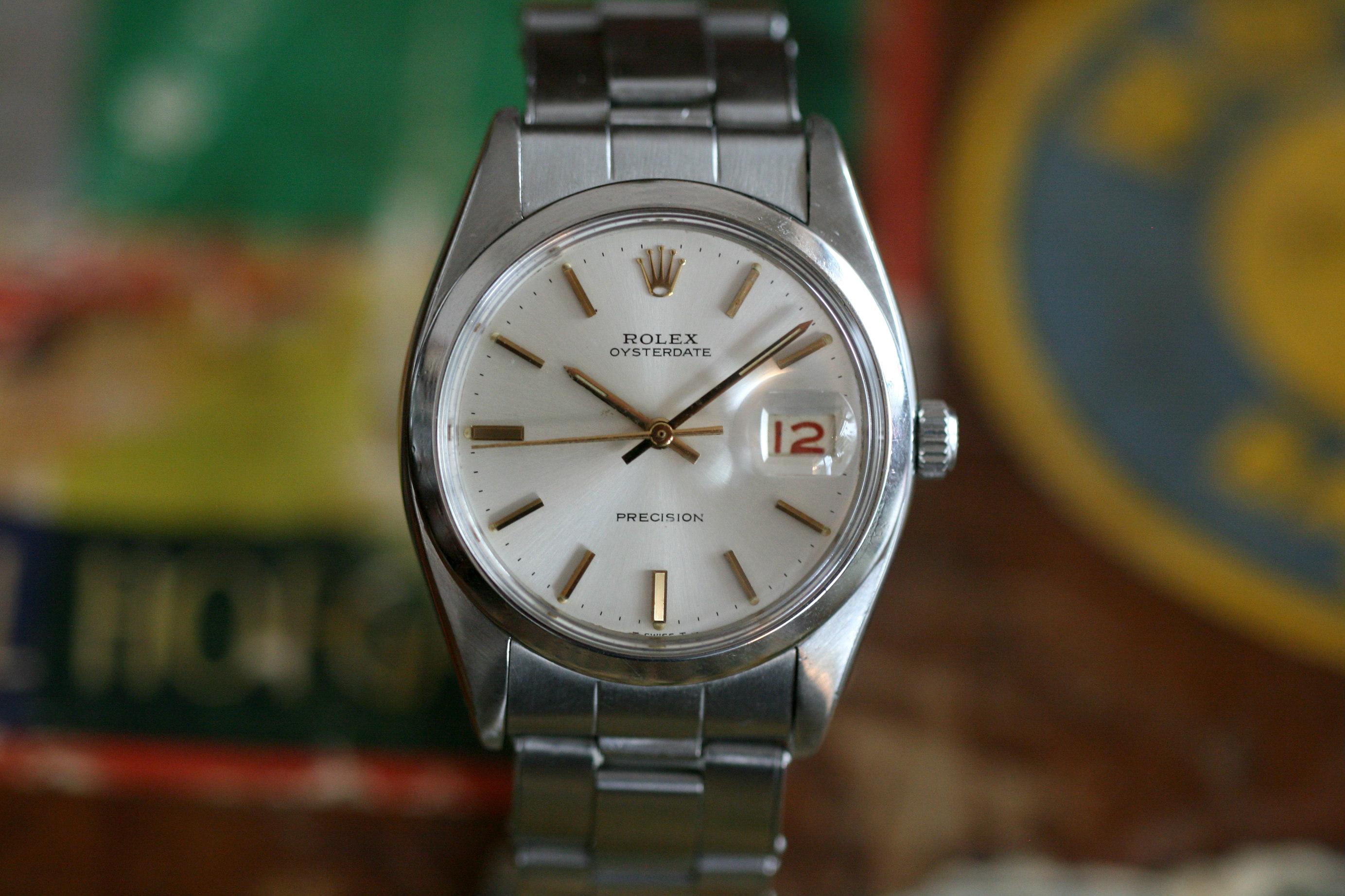 Rolex Precision Roulette Date BJ. 1959